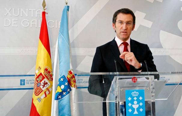 """Feijóo afirma que sería una """"intromisión"""" que Rajoy actuase en Valencia"""