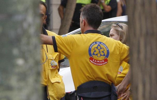 Una mujer de 50 años muere en una reyerta en Madrid