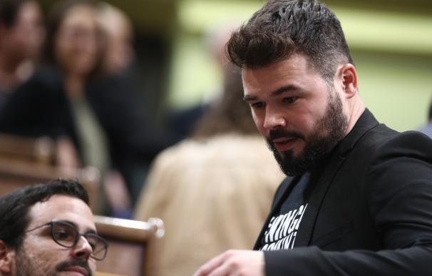 """ERC rechaza """"paralelismos"""" entre Cataluña y Euskadi y no ve cambios en el Gobierno pese a la misión de Santamaría"""