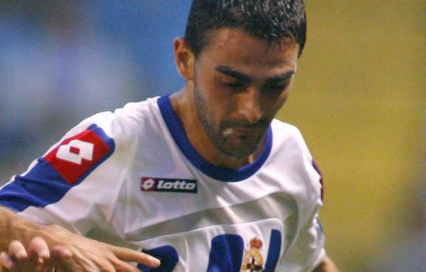 El delantero Adrián López duda para el encuentro de Tenerife