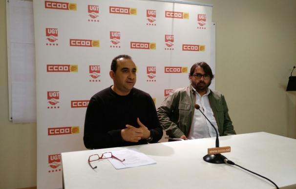 CC.OO. y UGT de Catalunya llaman a exigir que la recuperación llegue a los trabajadores