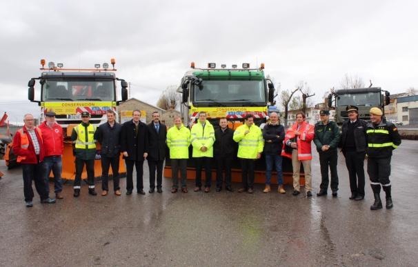 El Gobierno moviliza 200 efectivos y 66 máquinas en la Comunitat para la campaña de Vialidad Invernal en las carreteras