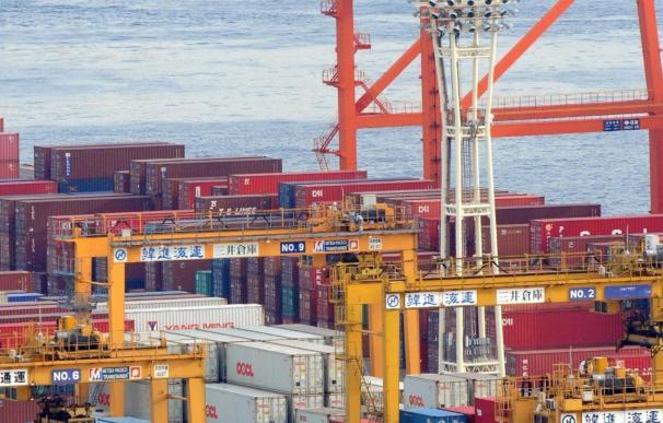 El superávit comercial de la zona euro alcanzó los 9.100 millones entre enero y julio