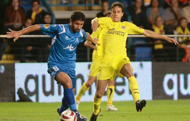 1-0. Nilmar rompe la muralla búlgara y el Villarreal obtiene la primera victoria