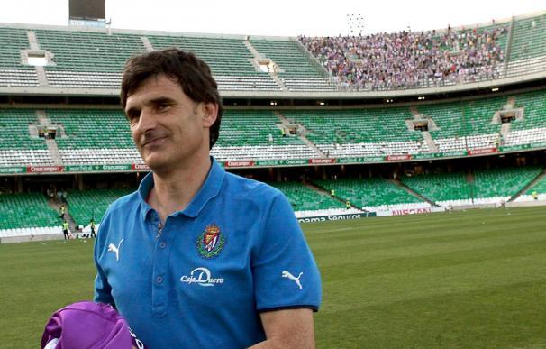 """Mendilibar afirma que que Valladolid tiene que ser """"más equilibrado"""""""
