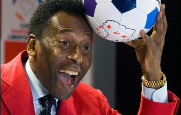 Pelé es la imagen de la nueva Copa Santander