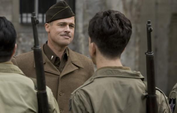 Brad Pitt protagoniza 'Malditos bastardos', la nueva película de Tarantino