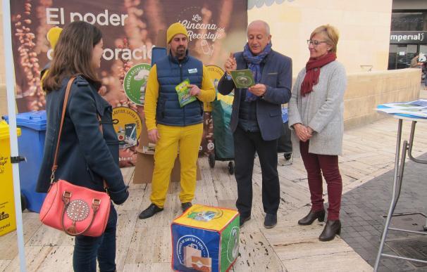 Más de 30 mercadillos de las pedanías de Murcia participan en la campaña 'El poder de la colaboración' por el reciclaje