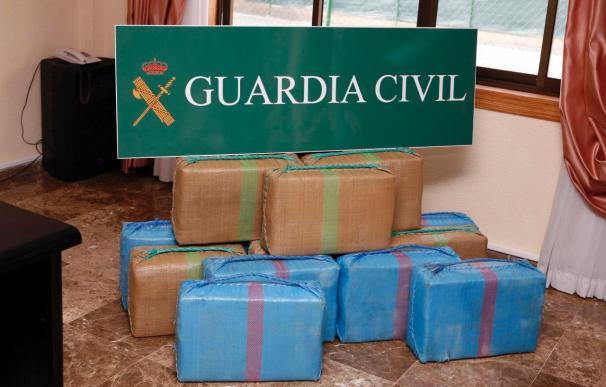 Intervienen 47 kilos de hachís llegados a Canarias en una patera de inmigrantes