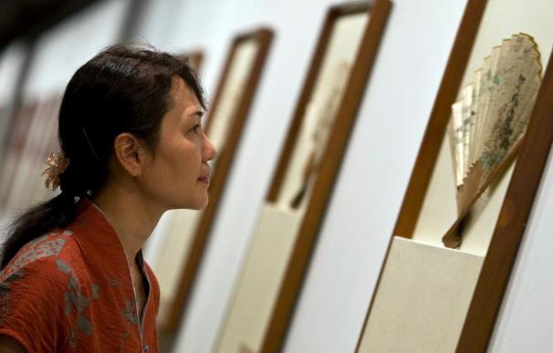 IVAM recoge una muestra de abanicos de las dinastías chinas Ming y Qing