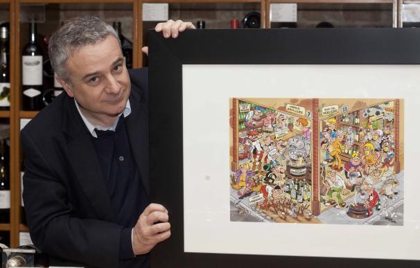 Ibáñez ilustra el XXV catálogo anual de Vila Viniteca