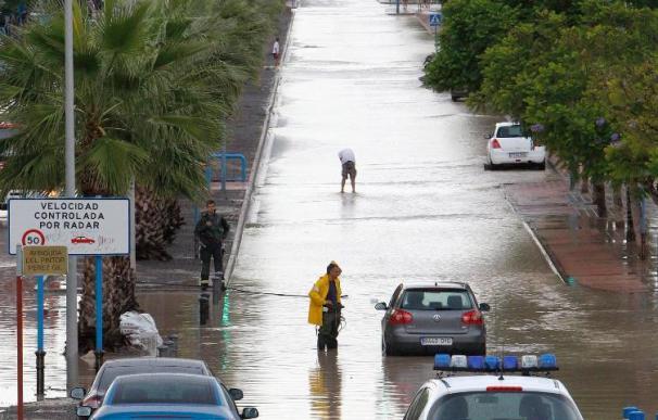 Las fuertes lluvias mantienen en alerta a doce comunidades autónomas