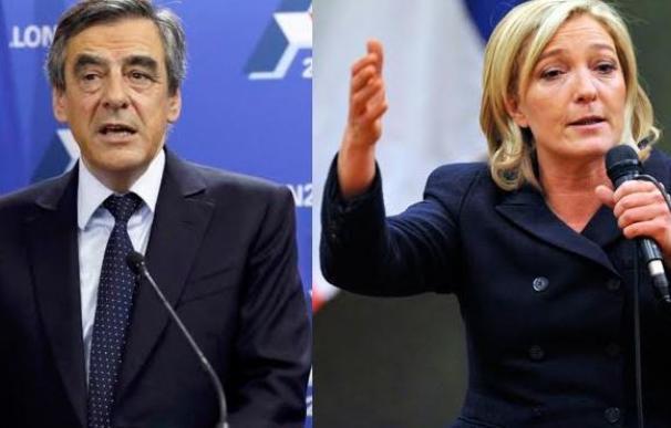 Las encuestas auguran una victoria de Fillon frente a Le Pen en las elecciones francesas