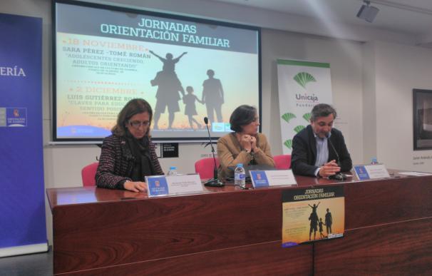 Diputación analiza el papel de las familias en la sociedad actual con unas Jornadas de Orientación