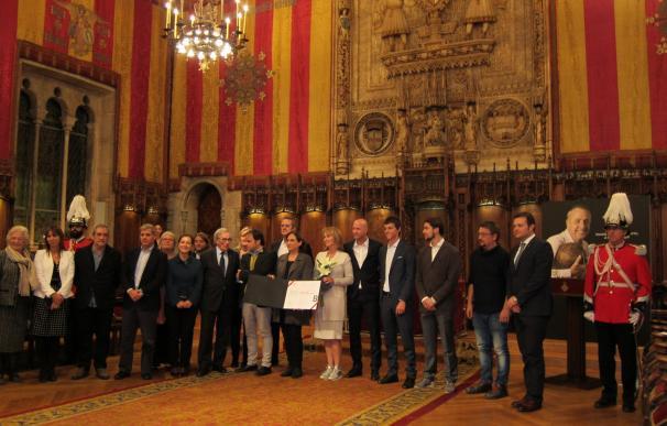 Johan Cruyff recibe la Medalla de Oro al Mérito Deportivo a título póstumo