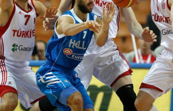 74-76. Grecia será la rival de España en semifinales