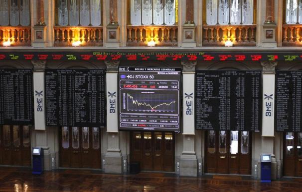 La Bolsa española comienza la sesión con un descenso del 0,37 por ciento