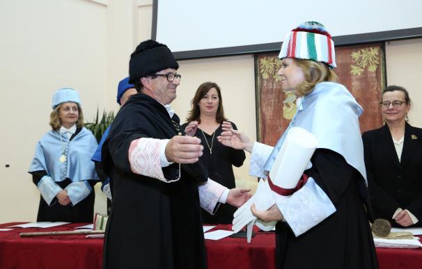 La UIB celebra el acto de investidura de Carme Riera como doctora Honoris Causa del centro universitario