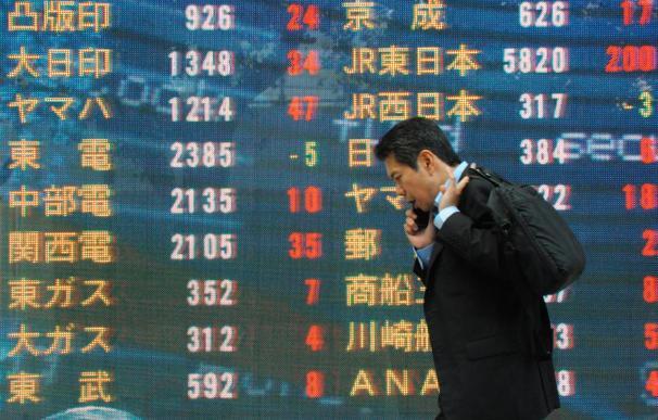 El Nikkei abre con caída del 0,61 por ciento hasta los 10.379,75 puntos