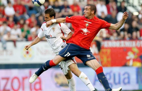 Duro examen para Osasuna ante un Sevilla con gafe en Pamplona