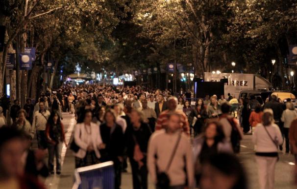 Arte, sushi y clases de baile para La Noche en Blanco madrileña