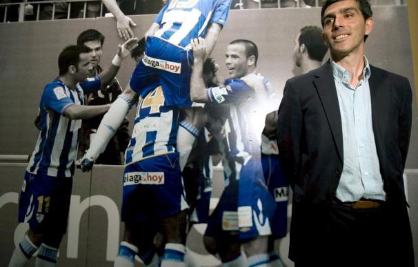 El Málaga recibe al Racing en un partido especial para el técnico Muñiz