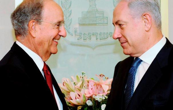 Mitchell y Netanyahu reunidos por tercera vez para reanudar el proceso de paz
