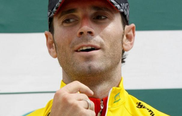 Valverde aguantó el pulso a Samuel Sánchez y Basso en Navacerrada