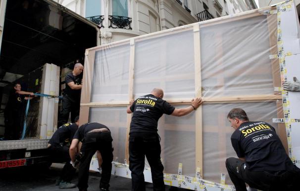 Los paneles de Sorolla vuelven a Valencia para una nueva exposición con otras obras
