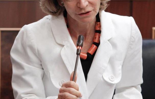 """Salgado dice que la CEOE debería """"aplicarse"""" la austeridad en el empleo que predica"""