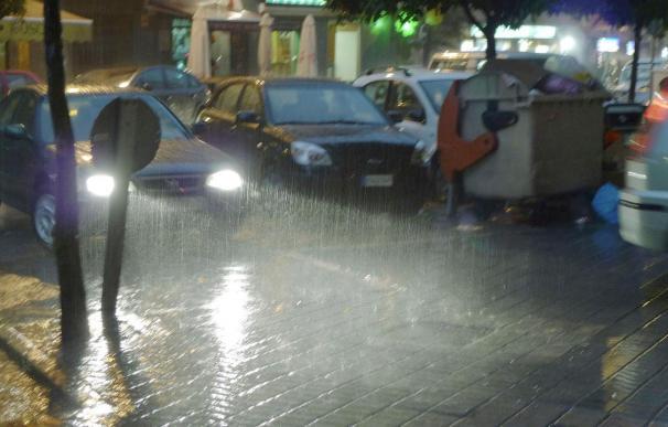 Comienza el otoño con fuertes lluvias en Baleares y la Comunidad Valenciana