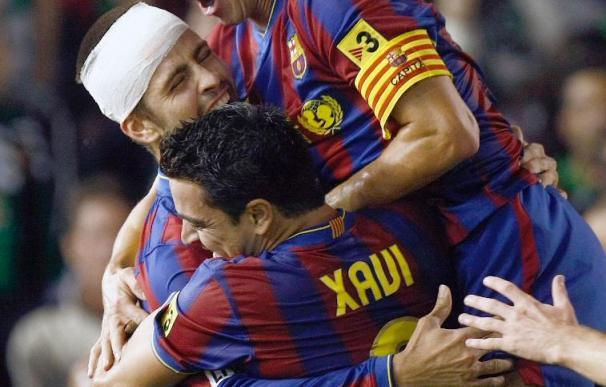 1-4. El Barça se pasea a medio gas ante un Racing timorato y blando