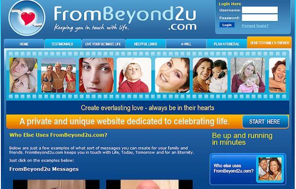 FromBeyond2u.com, una red social para los muertos