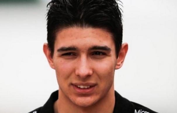 Esteban Ocon será el compañero de Sergio Pérez en Force India la próxima temporada