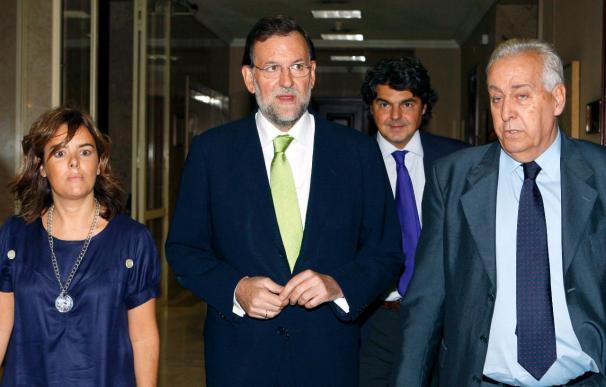 Rajoy apunta a Zapatero, Blanco y Pajín como responsables de la moción
