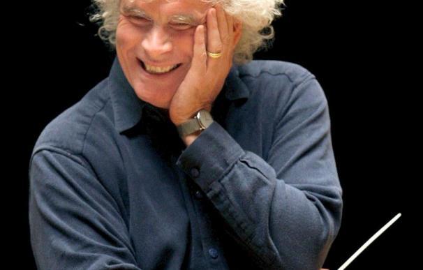El Príncipe de Asturias entregará a Simon Rattle el premio Juan de Borbón