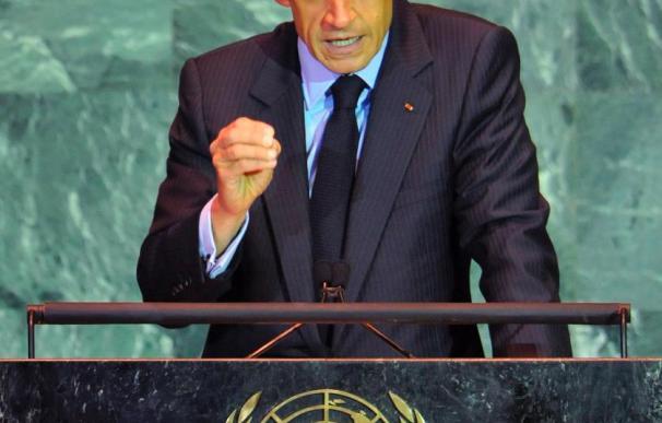 Sarkozy propone lanzar la Organización Mundial del Medio Ambiente