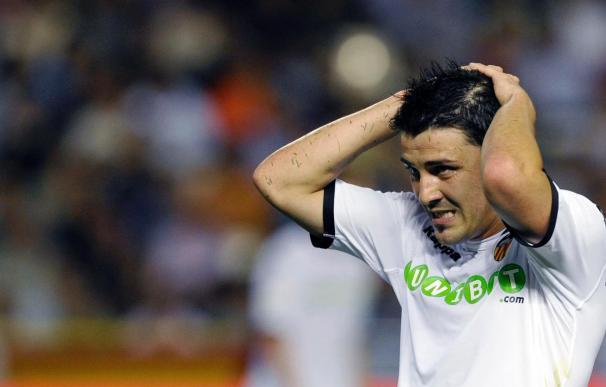Villa logra el mejor arranque goleador de su carrera en Liga