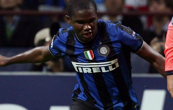 Eto'o reclama al Barcelona 3 millones de euros por su traspaso al Inter
