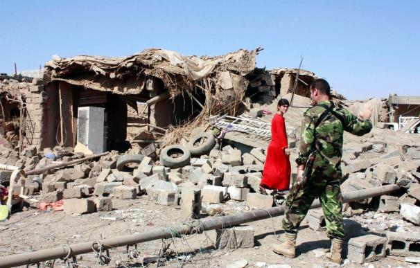 Siete policías muertos y otros 18 heridos en un atentado suicida en Irak