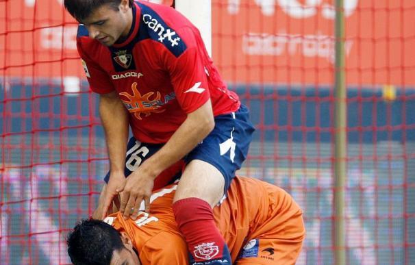 Osasuna, con la mitad de puntos que la pasada temporada en la primera vuelta