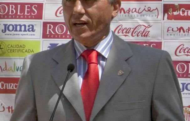 Del Nido, con buenas sensaciones para el partido contra el Rangers por el buen momento del Sevilla