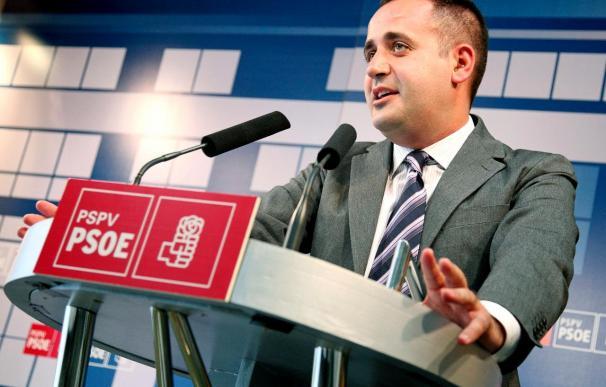 El PSPV pedirá mañana la disolución de Les Corts, la renuncia de Camps y elecciones anticipadas