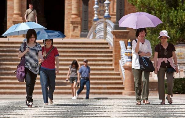 El gasto de los turistas internacionales en España bajó un 7,4 por ciento hasta agosto