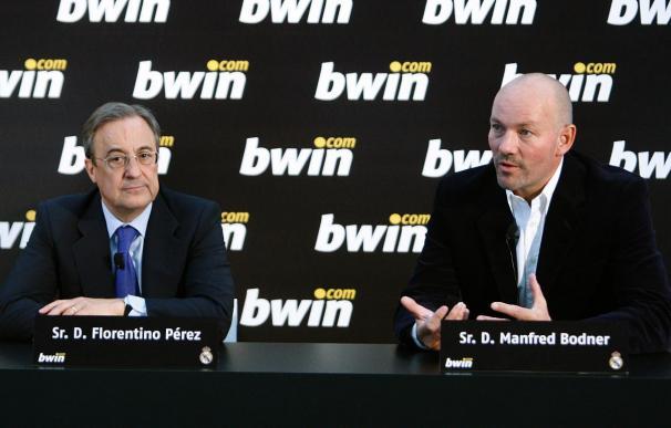 El Real Madrid renueva hasta 2013 el patrocinio de bwin