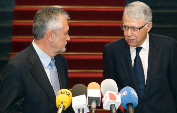 "Griñán ve ""interesante"" el Plan de Marruecos sobre el Sahara Occidental"