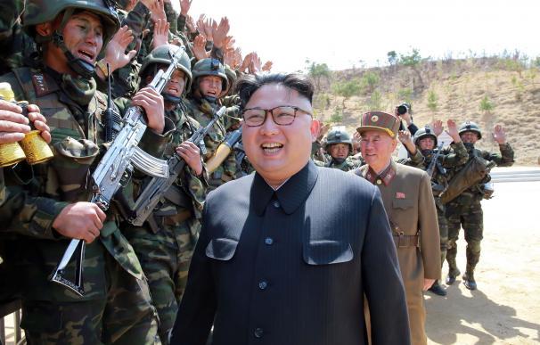 Kim Jong-un sigue desafiando a Occidente con pruebas nucleares (STR / KCNA VIA KNS / AFP)