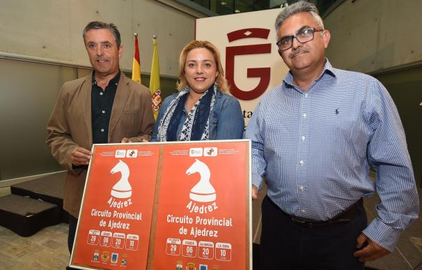 La Diputación recupera el circuito de ajedrez para impulsar un gran torneo provincial