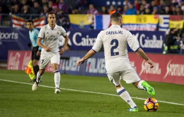 El Real Madrid repite la convocatoria del derbi para la visita al Sporting de Portugal
