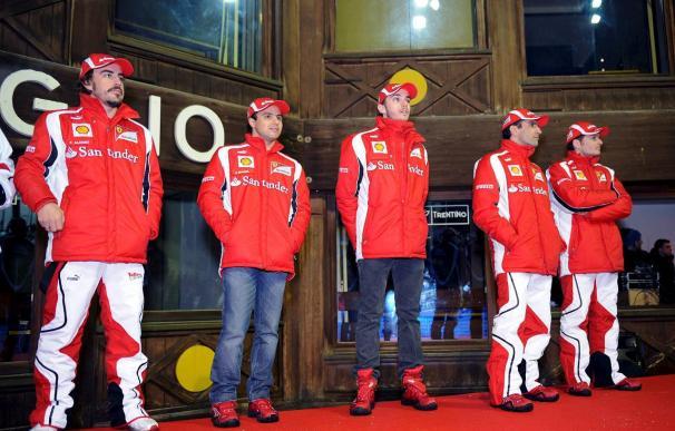 Los doce equipos entrenan en Valencia, con Alonso los días 1 y 2 de febrero